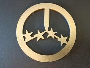 логотип из металла